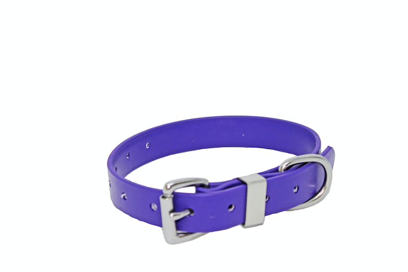 25MM X 600MM VIOLET  COLLAR, STAINLESS STEEL or BRASS