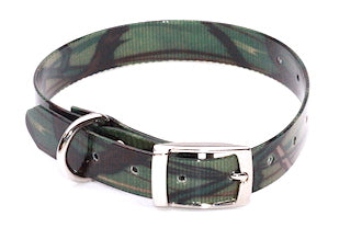BIOTHANE 19mm x 450mm GREEN CAMO NEXGEN COLLAR