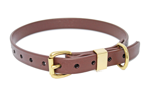 BIOTHANE 19MM X 500MM BROWN BETA COLLAR