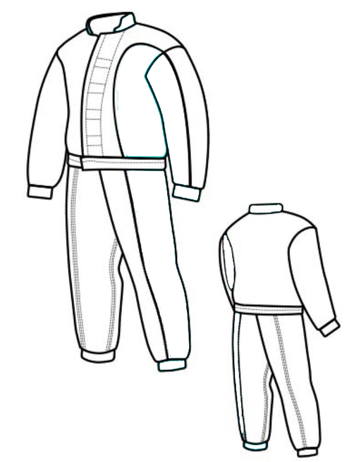 Demanet Kevlar Hidden Deconditioning Suit
