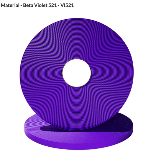 16mm Wide, Super Heavy Beta Coated Biothane (Beta 520)
