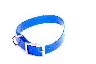 BIOTHANE 19MM X 450MM BLUE NEXGEN COLLAR