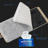 Mop Microfiber  Replacement Pads - allureshops