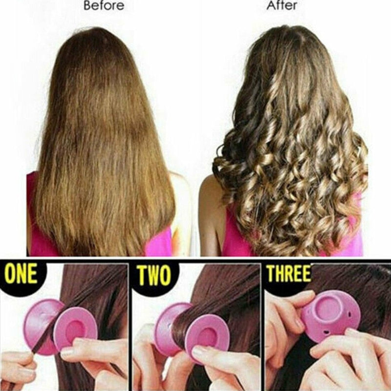 Candy Magic Hair  Rollers-10 PCS - allureshops