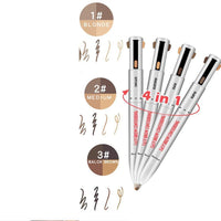 Allure Eyebrow Pen-Four in One - allureshops