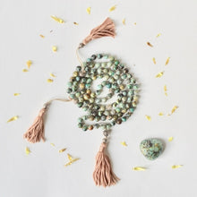 necklace mala 108 beads product handmade