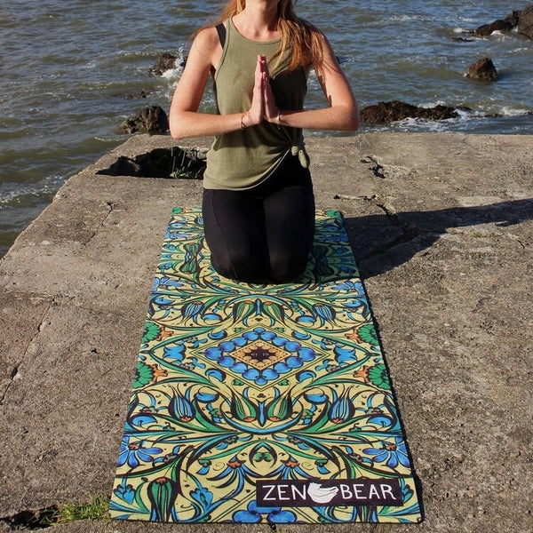 tapis yoga eco responsable