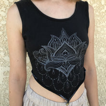 Yoga open back tank (handmade)