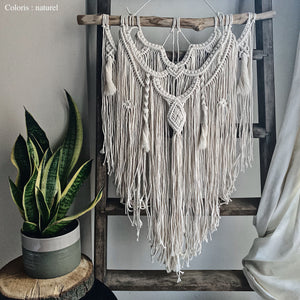 Macramé artisanal Marwa (handcrafted and customizable)
