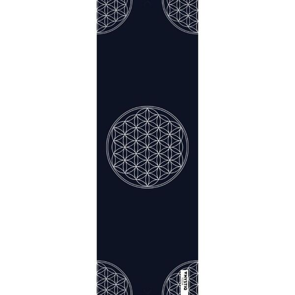 Tapis yoga voyage - Flower of life (1,5 mm)