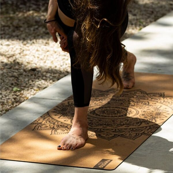 tapis yoga naturel liege
