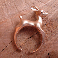 Laden Sie das Bild in den Galerie-Viewer, Bambi-Ring Rosegold