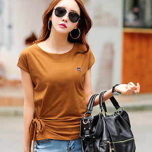 Femme Korean Fashion Tops Tee Shirt
