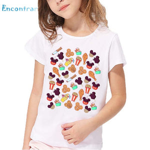 T shirt Kids Summer White