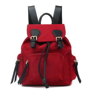 High Quality red Soft Comfortable Backpack