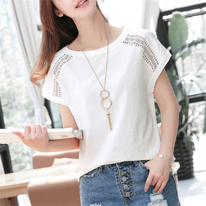 Summer Solim Casual T Shirt
