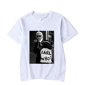 Vogue Style Karl Lagerfeld  T Shirt