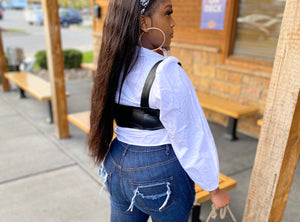 """Grownish"" Corset Vest"