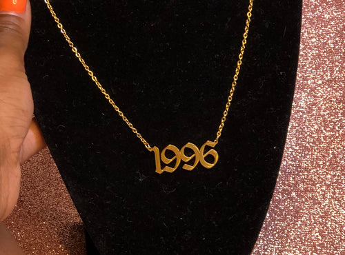 """Rugrat Years"" Custom Necklace"