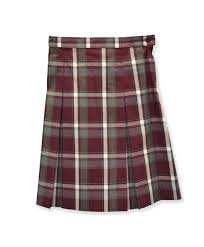 Skirt Junior Plaid Regular