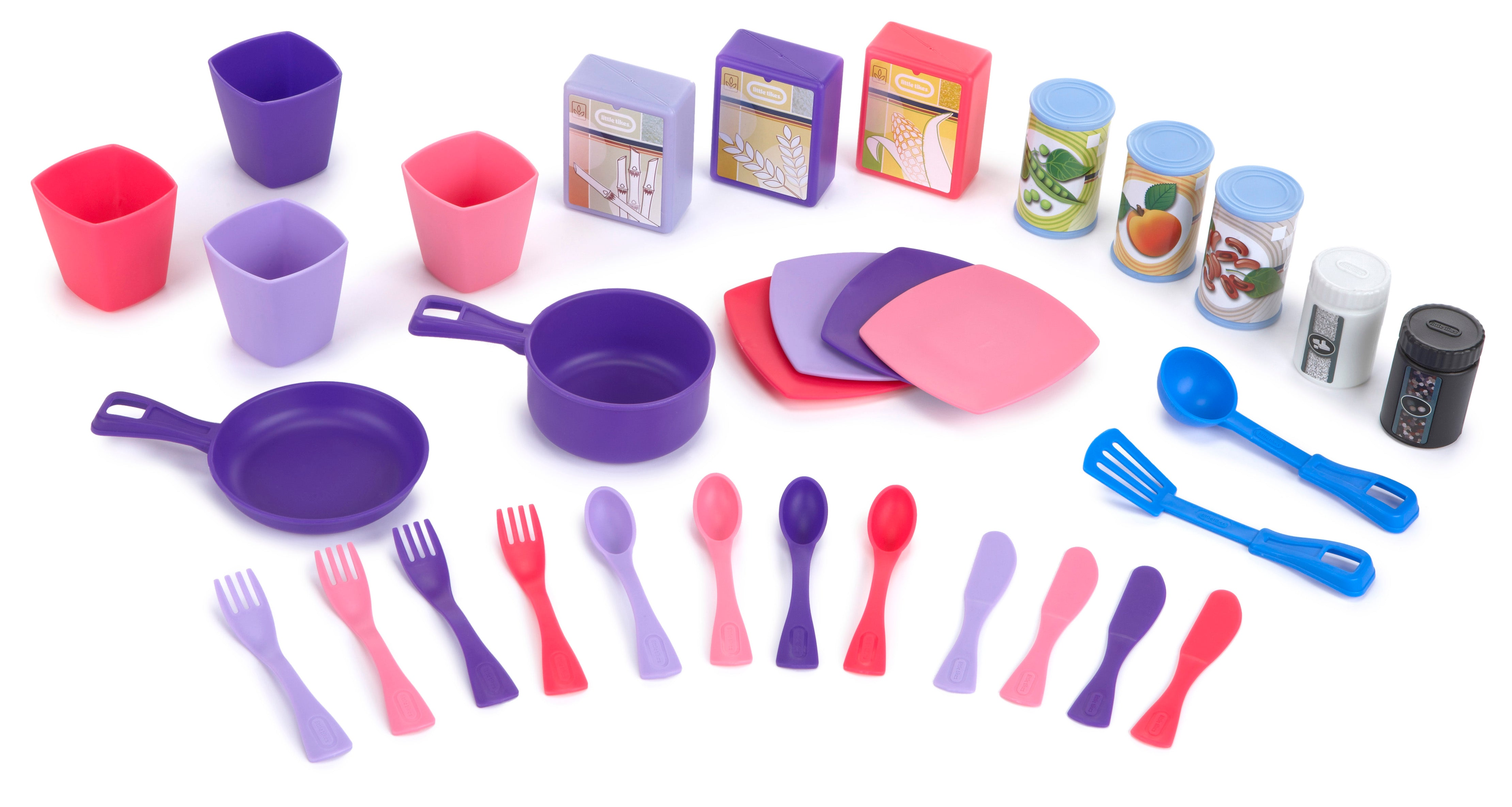 COCINA COOK N STORE ROSADA LITTLE TIKES