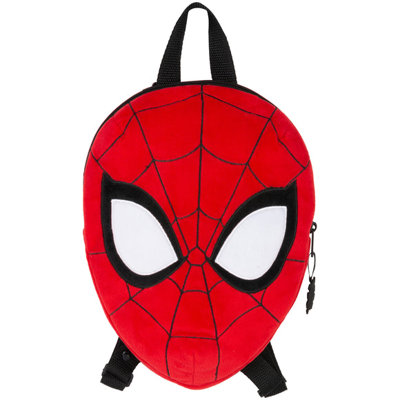 MOCHILA PELUCHE FACE SPIDERMAN