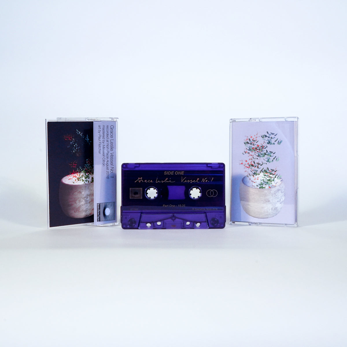 "STT001 - Grace Leslie ""Vessel no. 1"" - CS/Digital - Spacetime Tapes 2018"