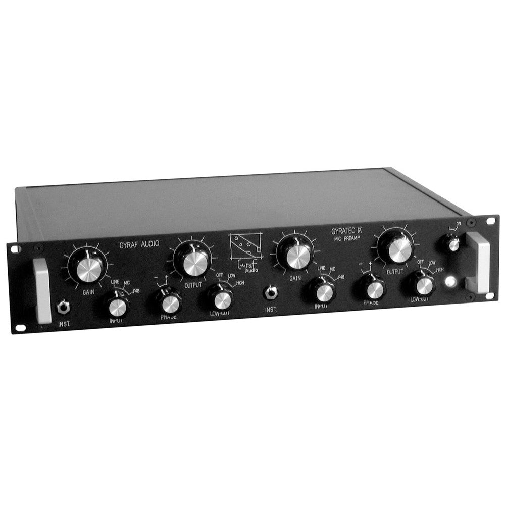 Gyraf Audio Gyratec G9 - Dual Microphone Preamp