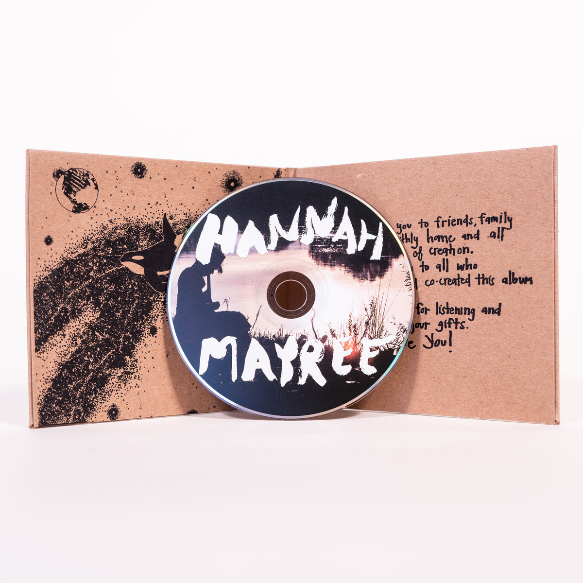 "HHH003 - Hannah Mayree ""Thoughts of the Night"" - CD / Digital"