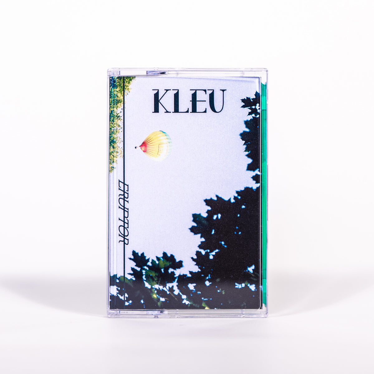 "STT003 - Kleu ""Eruptor"" - CS/Digital - Spacetime Tapes 2019"