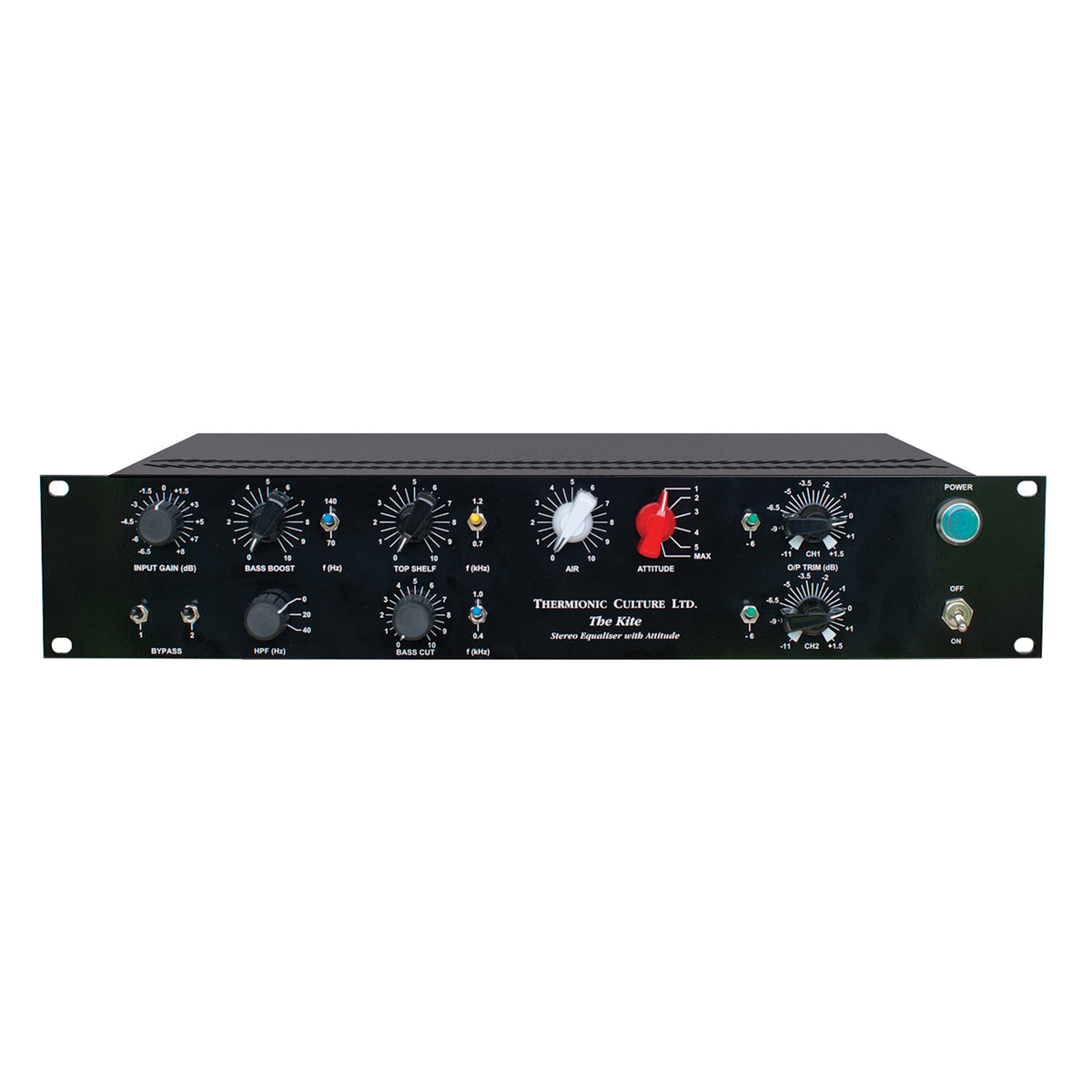 Thermionic Culture The Kite EQ - The Kite Stereo EQ with Attitude