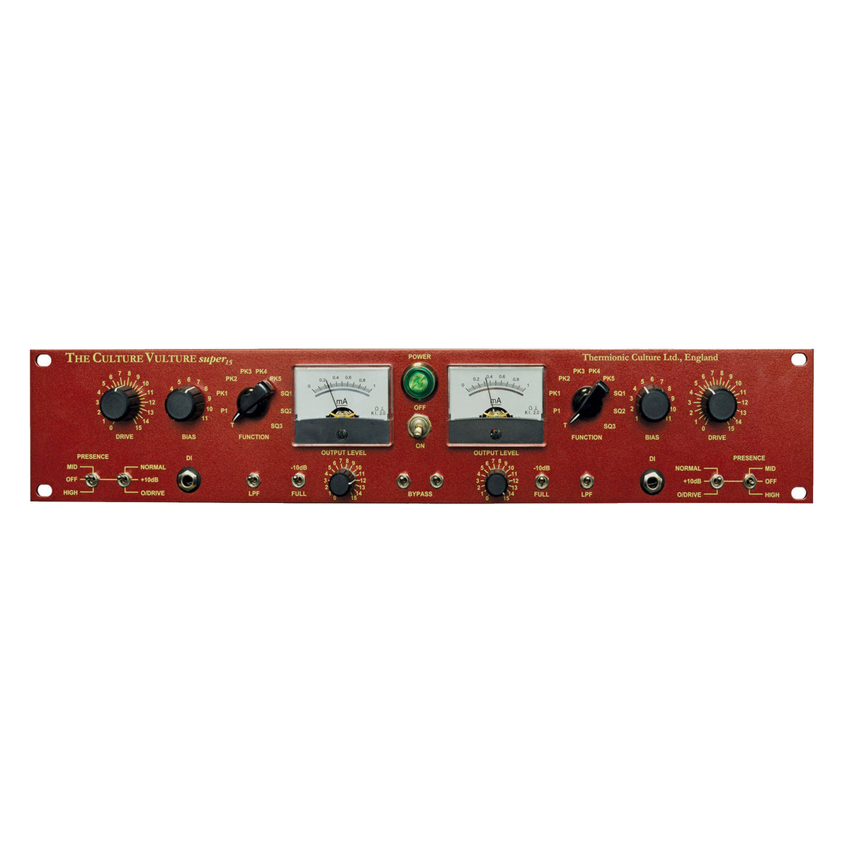 Thermionic Culture Vulture S15 - Stereo 'Super 15' Valve Enhancer Standard