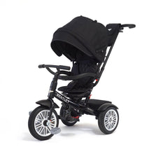 Load image into Gallery viewer, ONYX BLACK BENTLEY 6 IN 1 STROLLER TRIKE