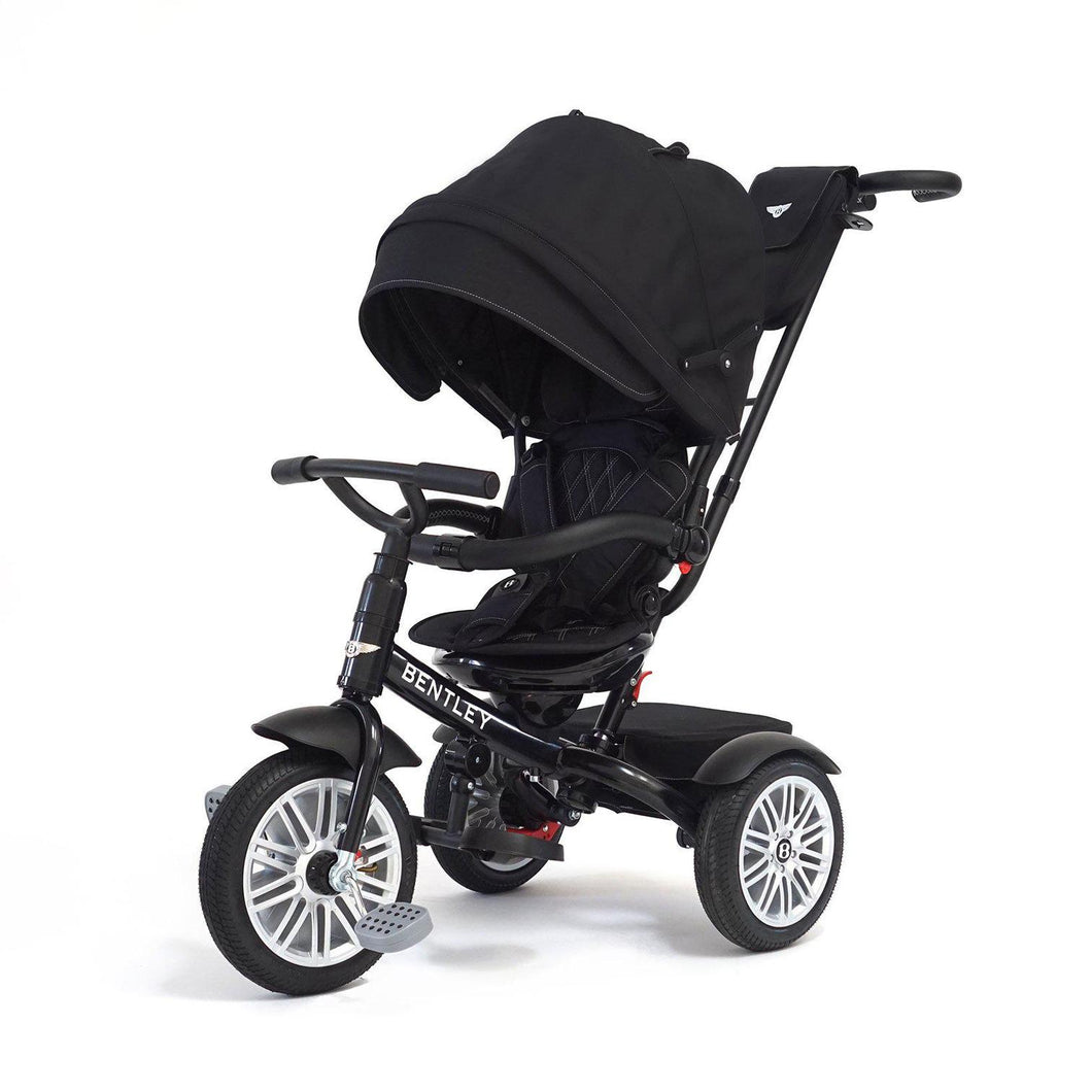 EX TANGS DISPLAY ONYX BLACK BENTLEY 6 IN 1 STROLLER TRIKE