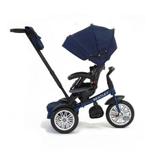 Load image into Gallery viewer, SEQUIN BLUE BENTLEY 6 IN 1 STROLLER TRIKE