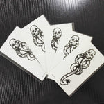 5 PCS Death Eaters Tattoos