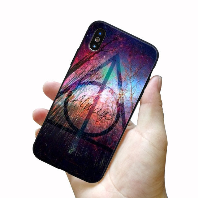 Harry Potter Pattern Soft Silicone Phone Case