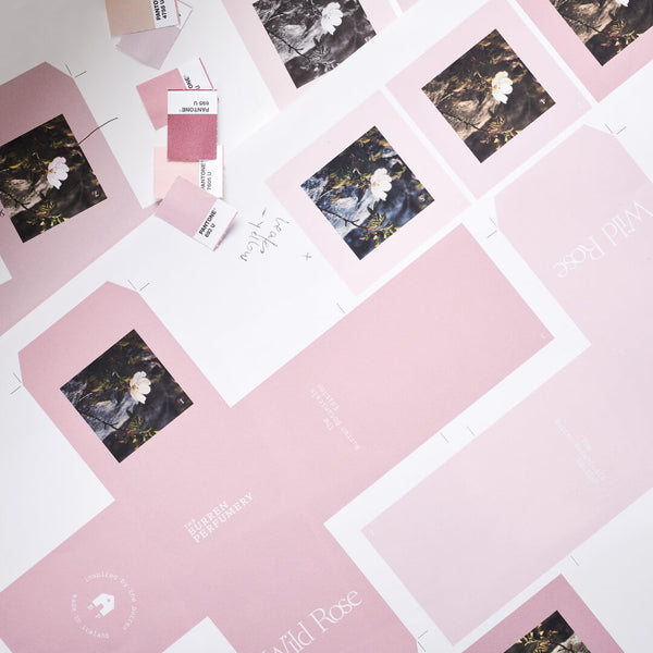 Wild Rose packaging