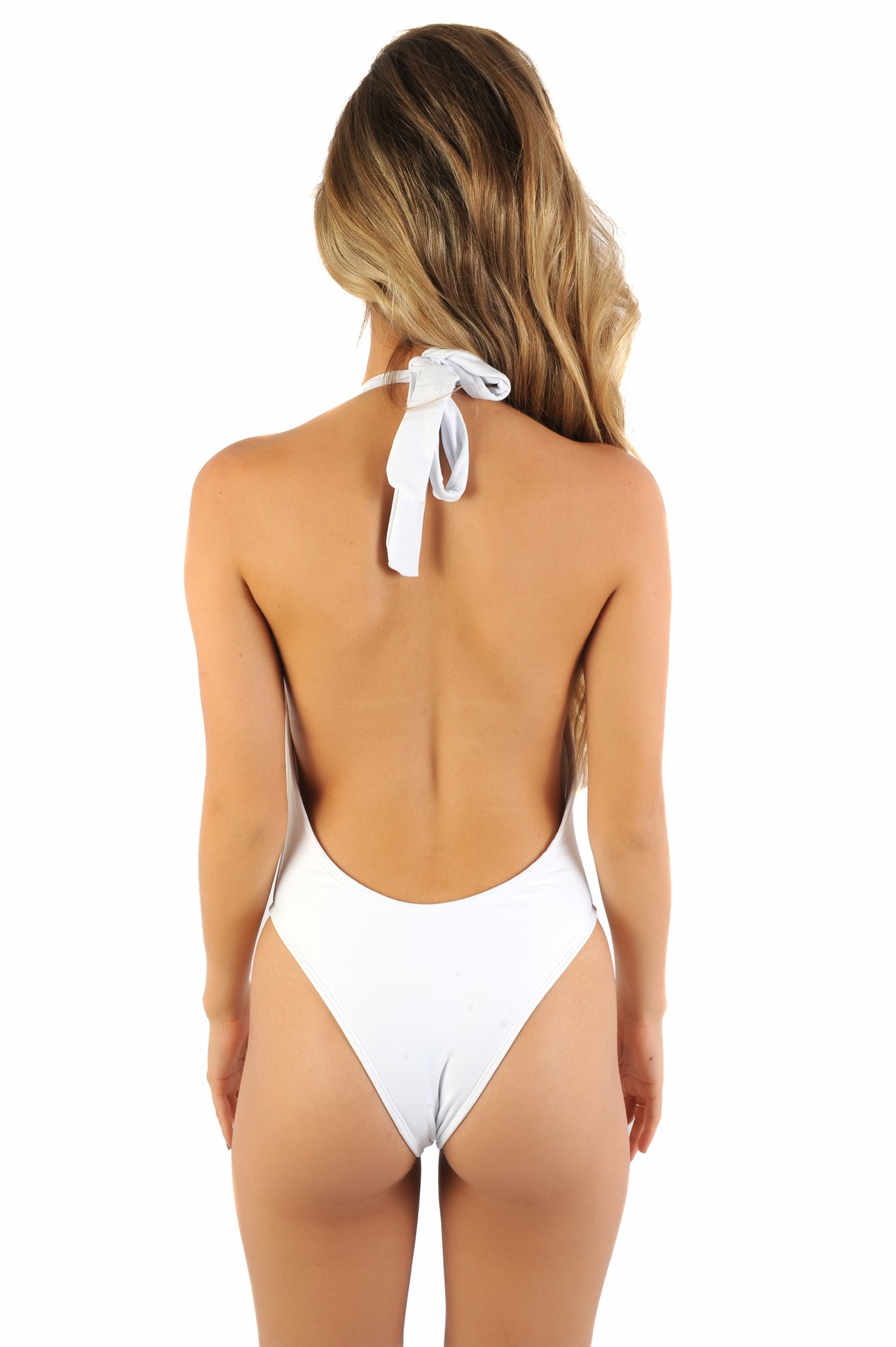 Coco - Deep-V Ruffle One Piece
