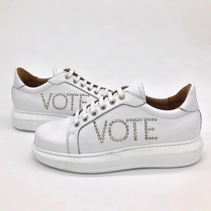 Canvass sneaker - White - VOTE