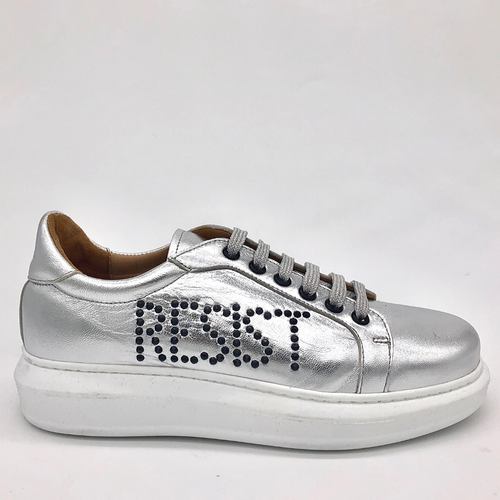 Canvass sneaker - Tin - RESIST