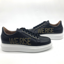 Load image into Gallery viewer, Canvass sneaker - Black - WE RISE