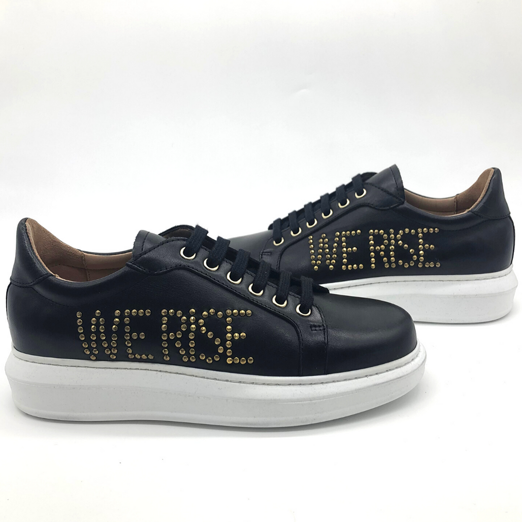 Canvass sneaker - Black - WE RISE