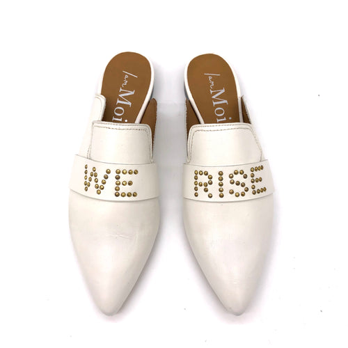 Walk With Us Slide - Marshmallow Leather- We Rise