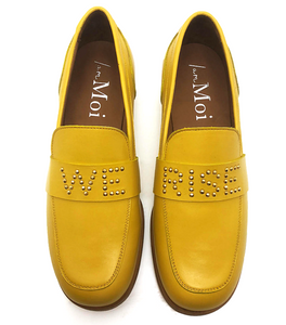 March Loafer - Bumble Bee Leather - We Rise