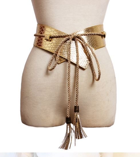 Rope Me In Belt (Gold)