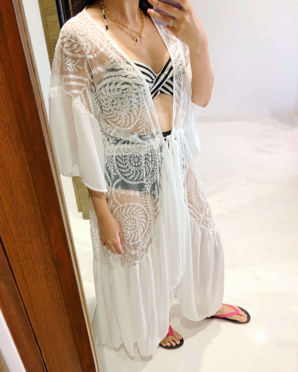 Lace Overload Cover Up