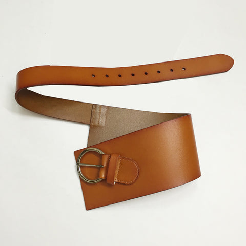 Instant Crush Belt: Tan