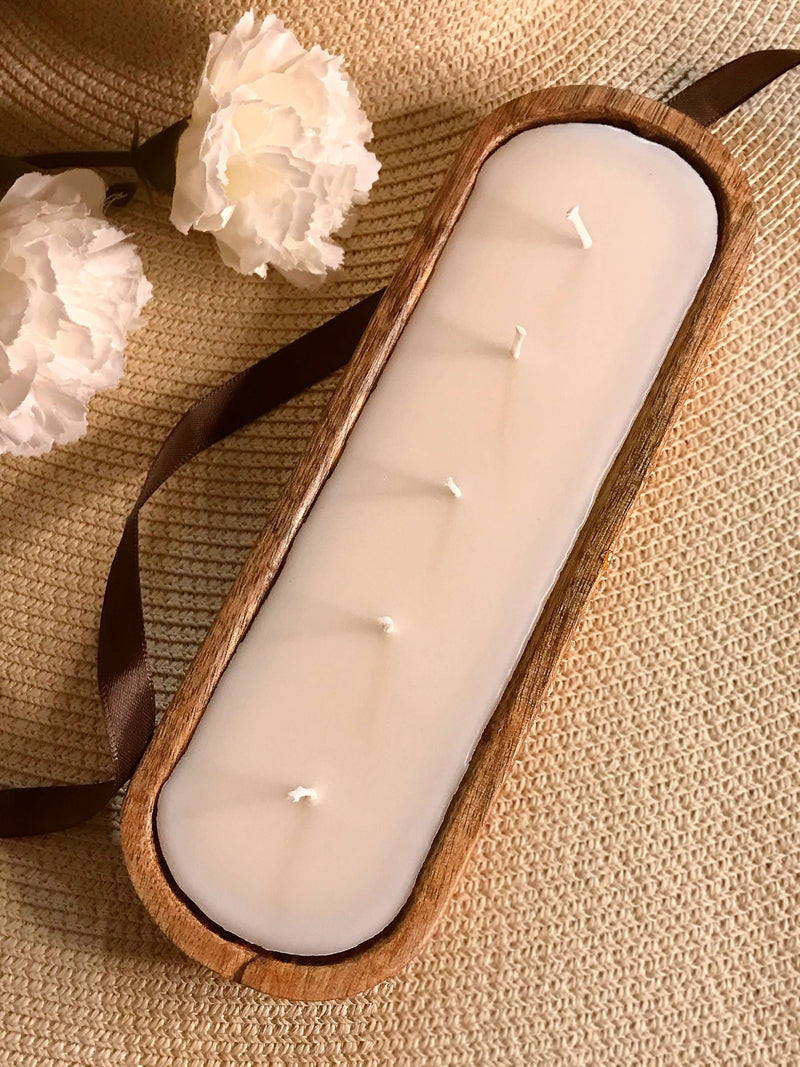 Row Boat Candle