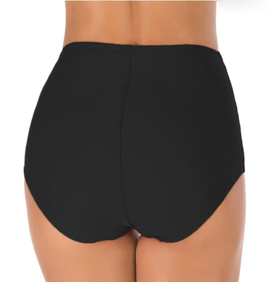 Knot Me High Waisted Swim Bottoms